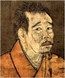紙本淡彩一休和尚像 参照:https://ja.wikipedia.org/wiki/一休宗純