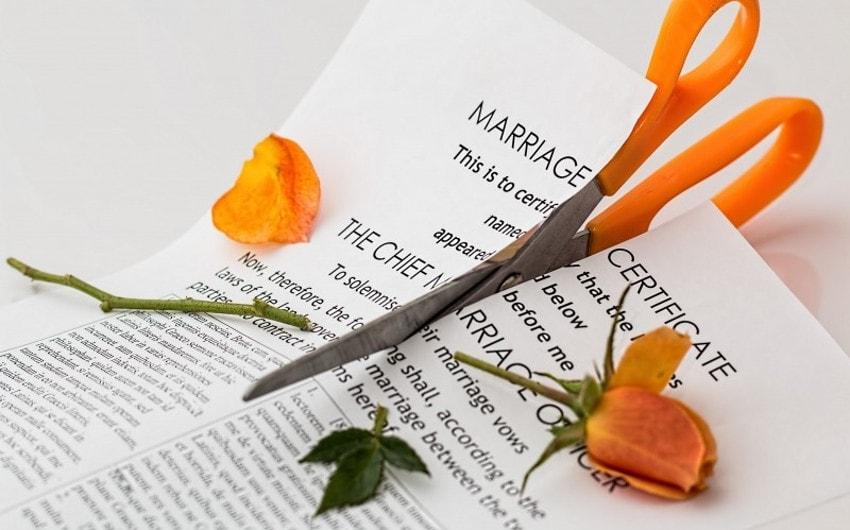結婚証明書の破棄