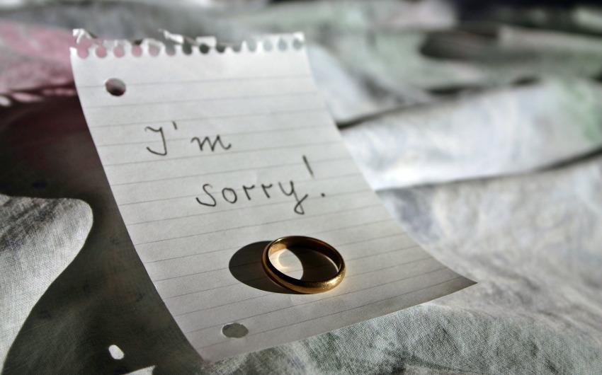 結婚指輪と手紙