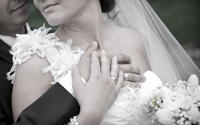 結婚式の新婦