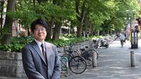 府中駅のけやき並木沿いに開業半年ほやほやの弁護士先生にインタビューの画像