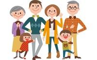 遺産相続のもらえる割合・配分・順位を家系図イラスト(図解)でわかりやすく解説の画像