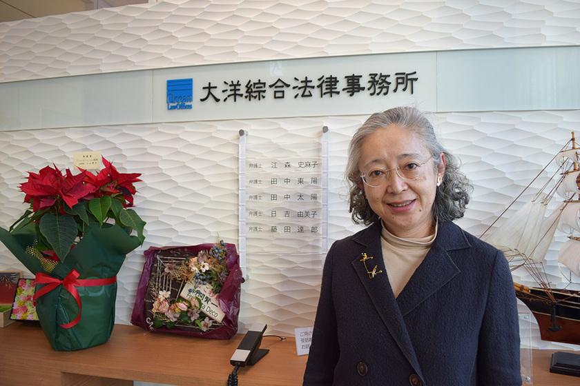 テレビ局勤務から弁護士の道へ、著作権に知見のある銀座の日吉由美子弁護士にインタビュー。のアイキャッチ