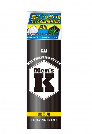 Men's K シルクプロテイン配合シェービングフォーム