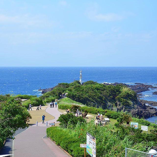 長崎鼻遊歩道(指宿市)