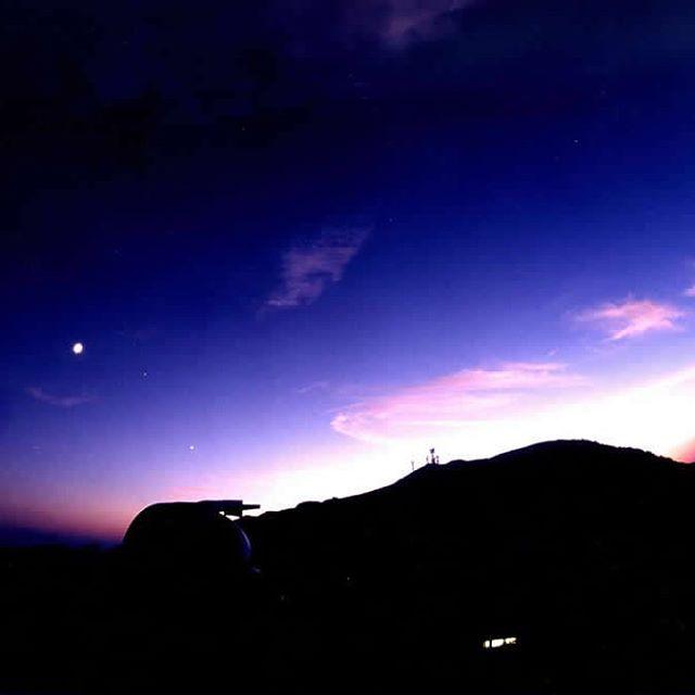 山荘梶ヶ森(夜景)