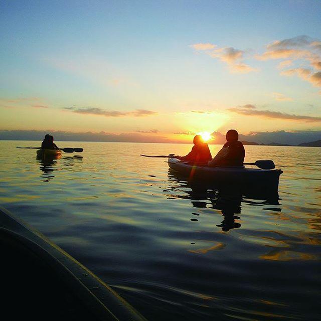 琵琶湖カヌー体験
