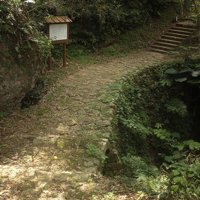 ヤーガ―の石矼(国頭方西海道)