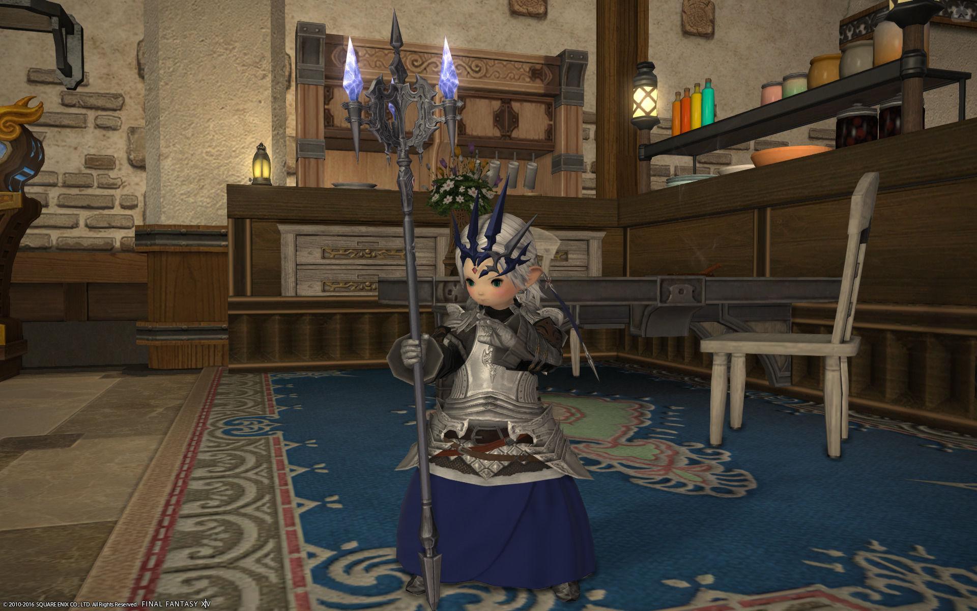 姫騎士風白魔術師
