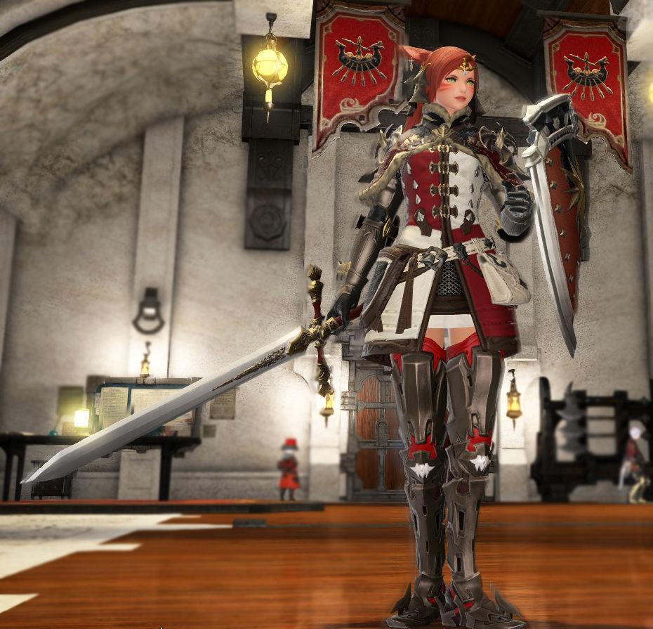 白紅の騎士