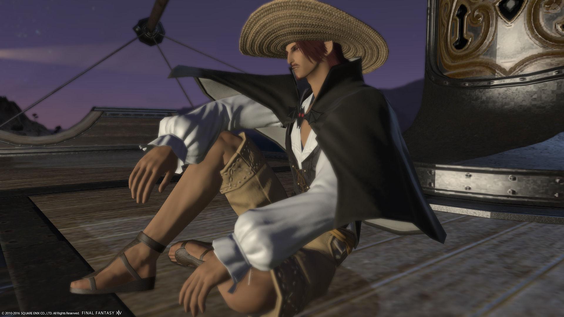 赤髭の海賊の人
