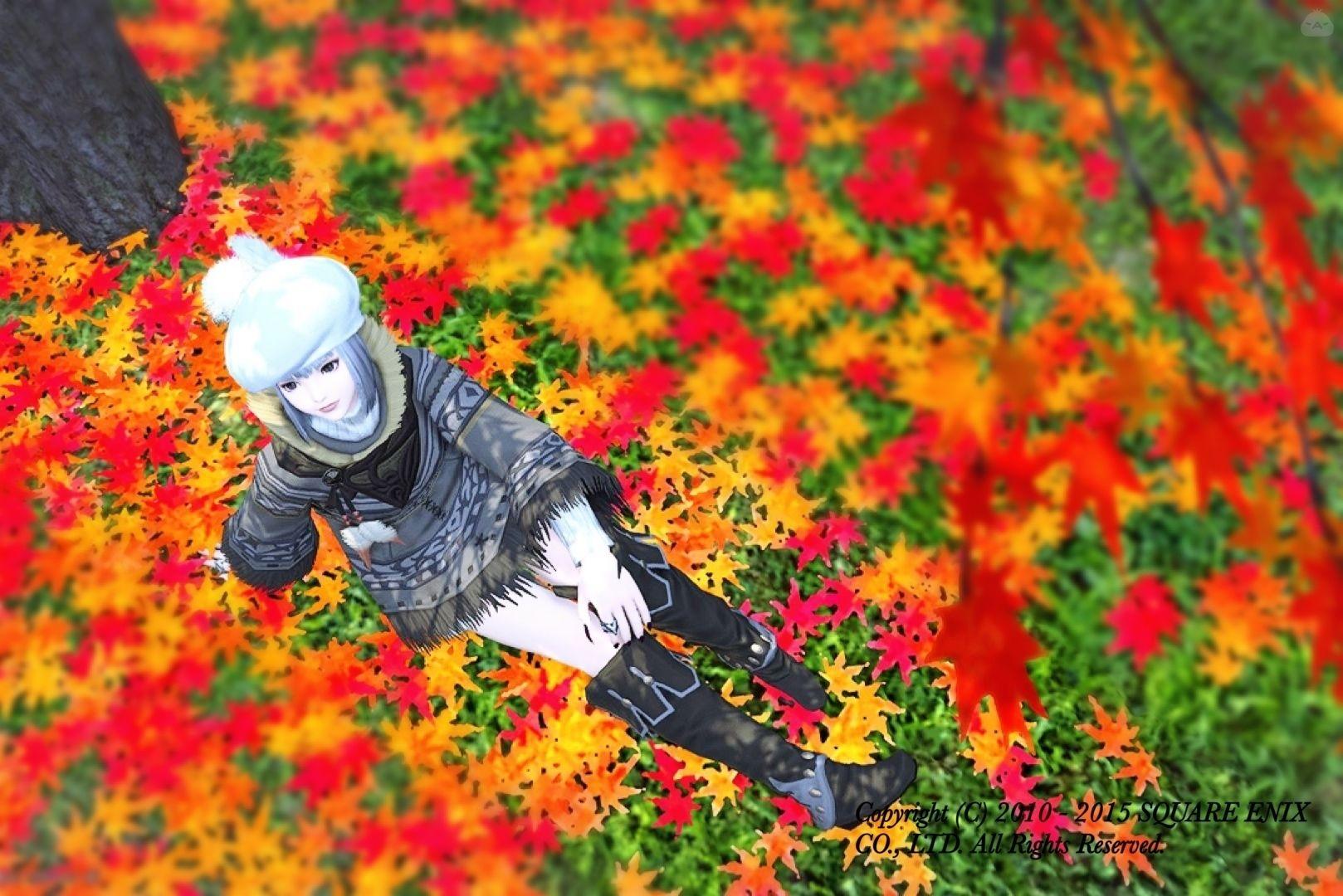紅葉狩りデートコーデ