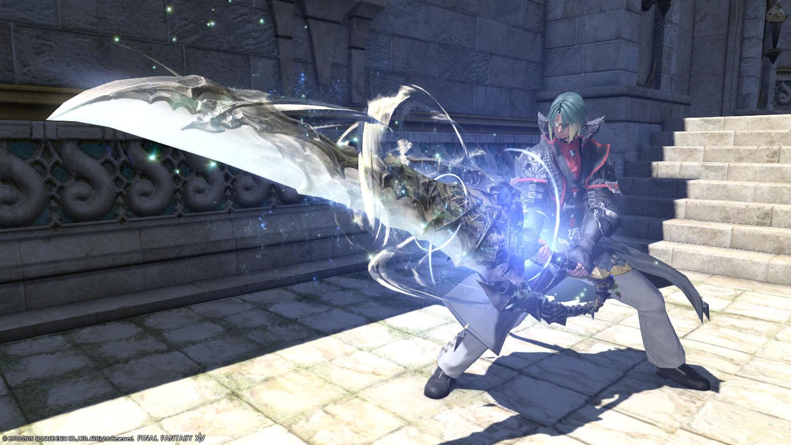 黒鱗の魔剣士