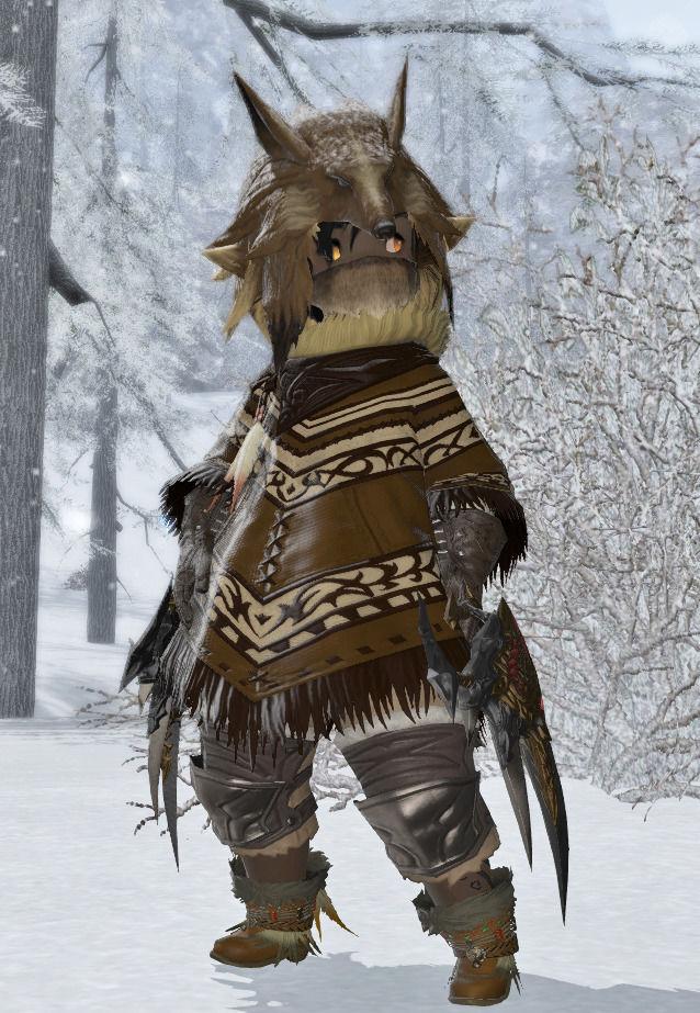 雪原の狩猟民族