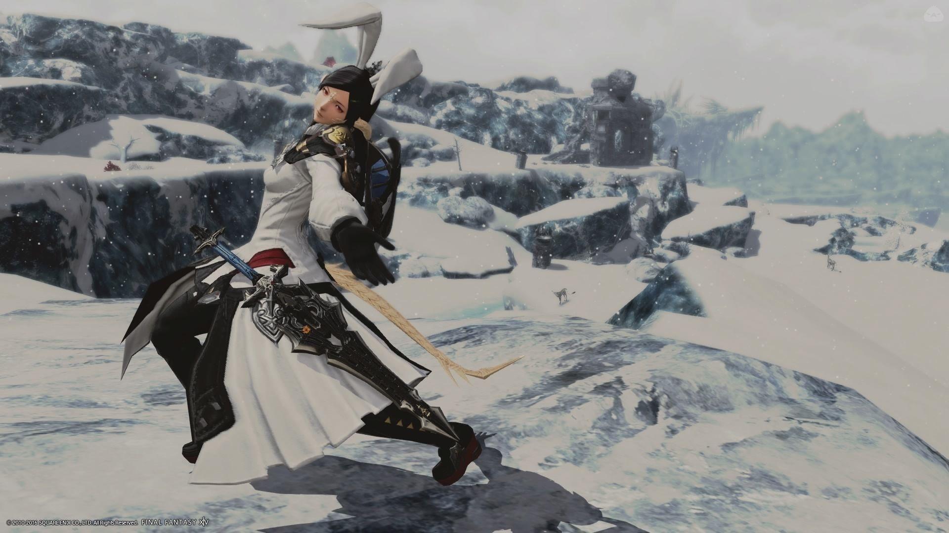 バニーナイト ~雪風の舞~