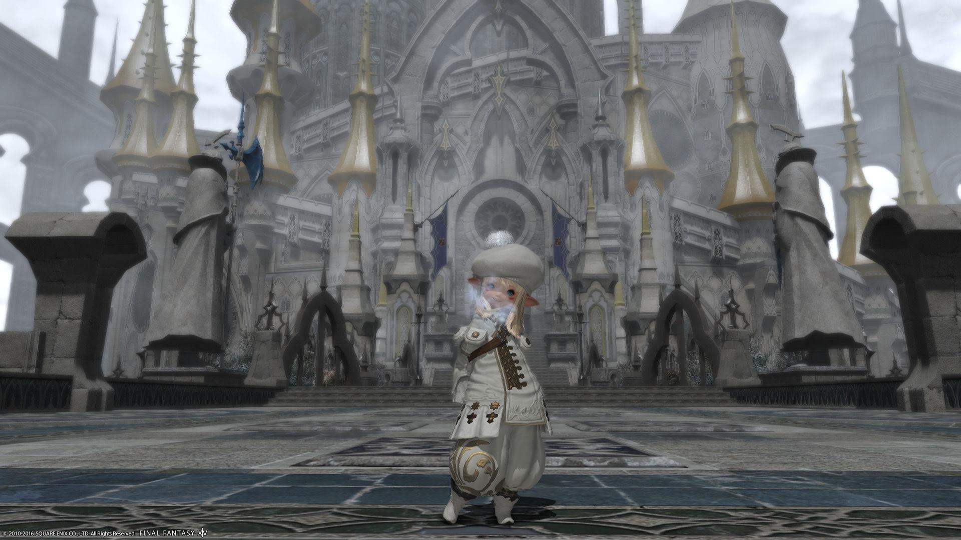 白っぽい黒魔導士