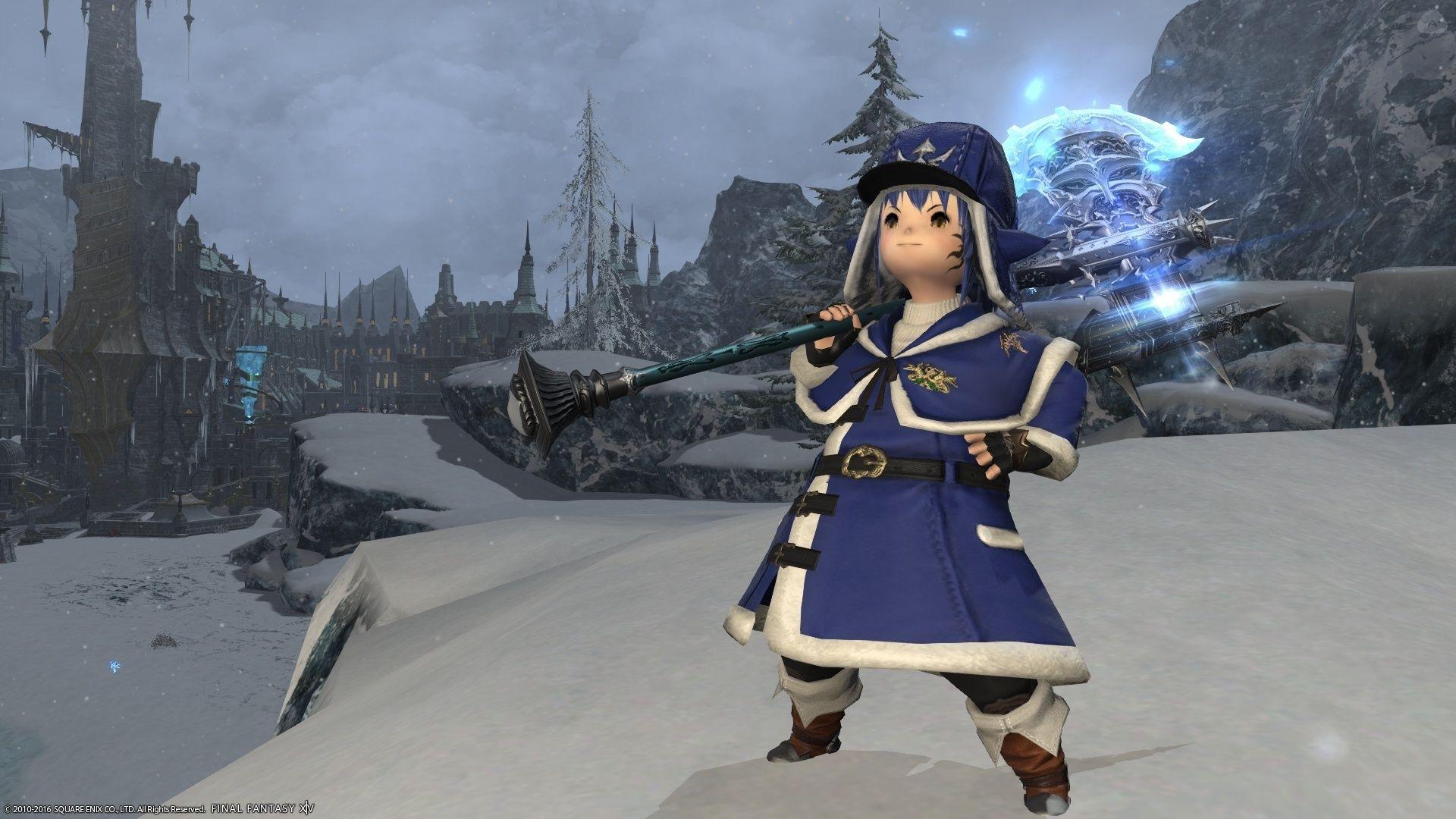 雪原の戦士