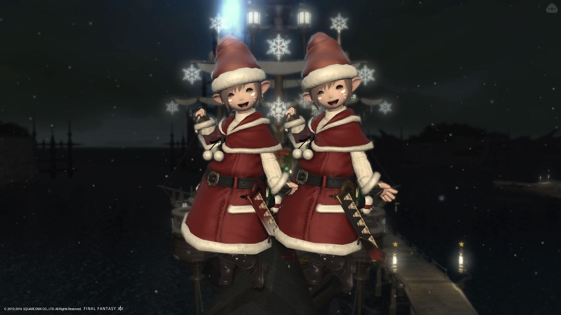 クリスマス限りの双子サンタ!