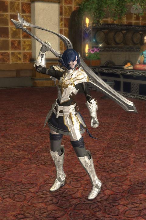 白銀の遊擊騎士