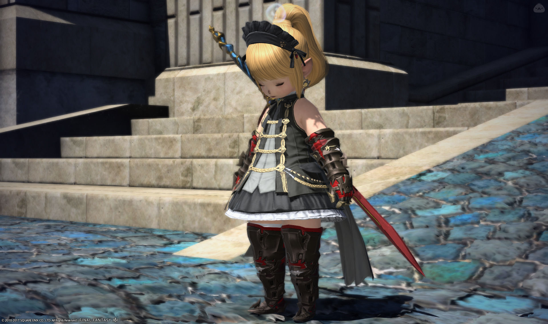 黒騎士メイド風