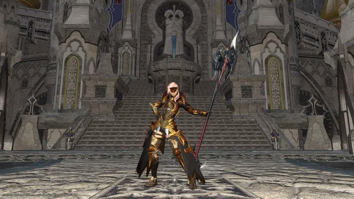 金色の竜騎士