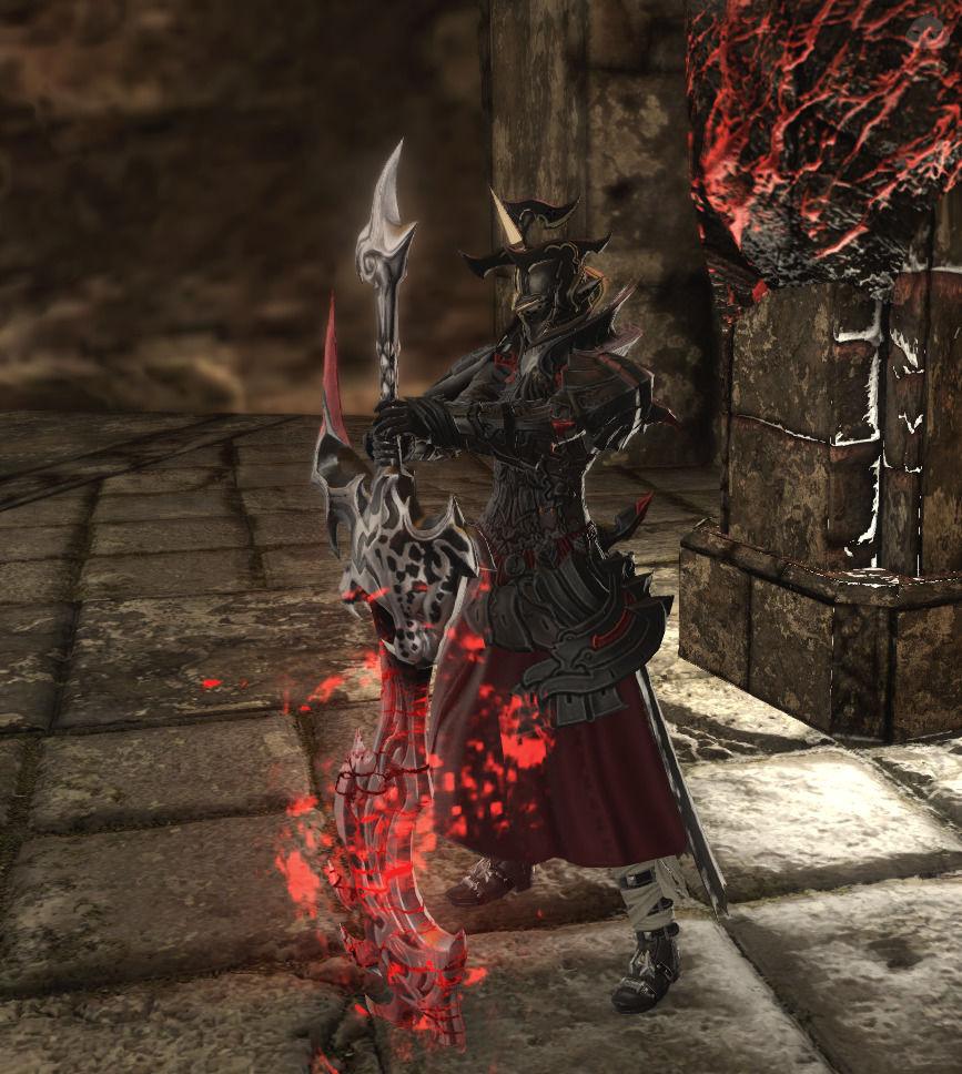 王道の暗黒騎士