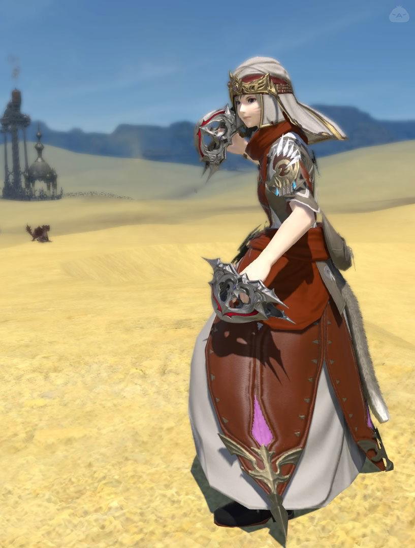 砂漠のモンク