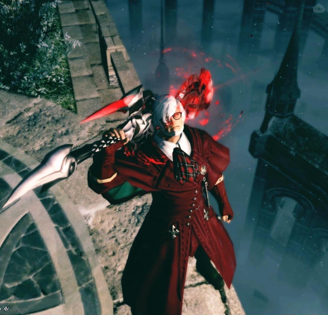 真紅の魔剣士