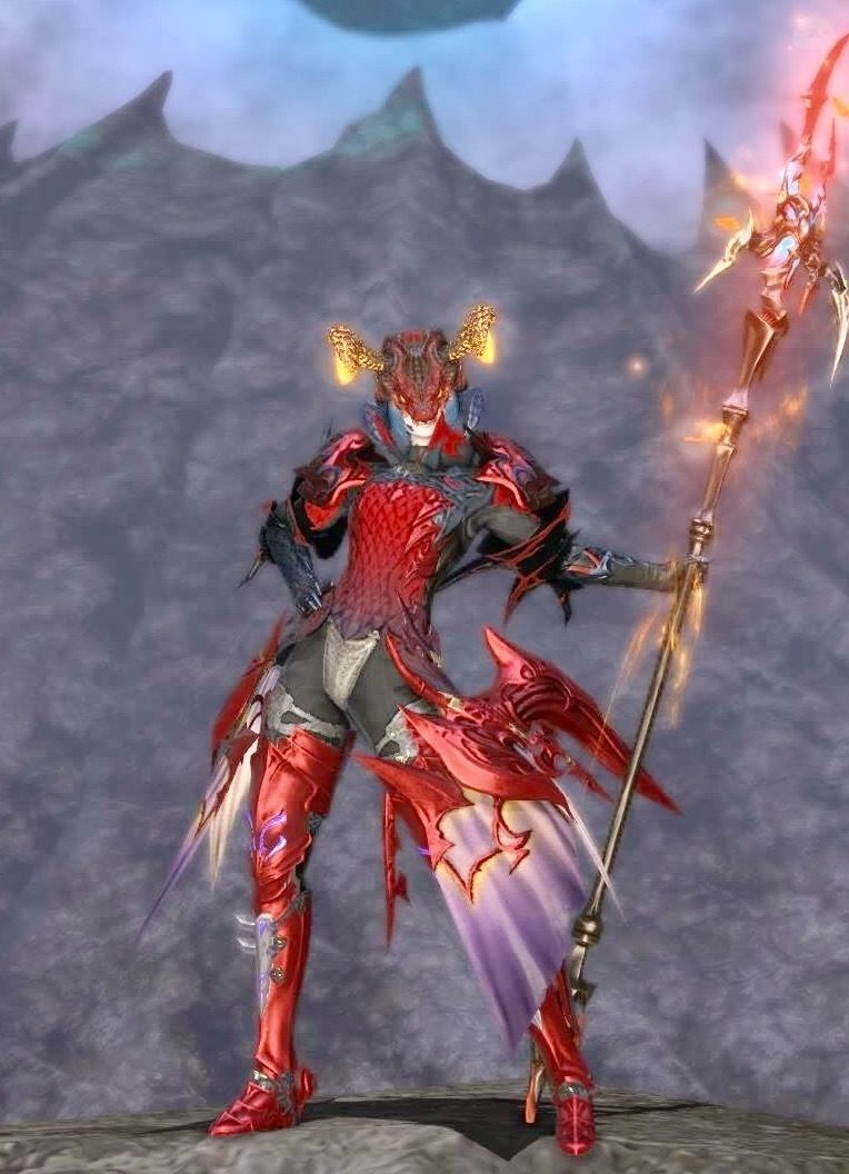 焔の竜騎士的なの