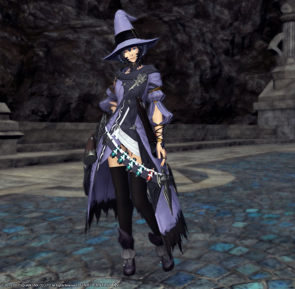 紫雷の魔女