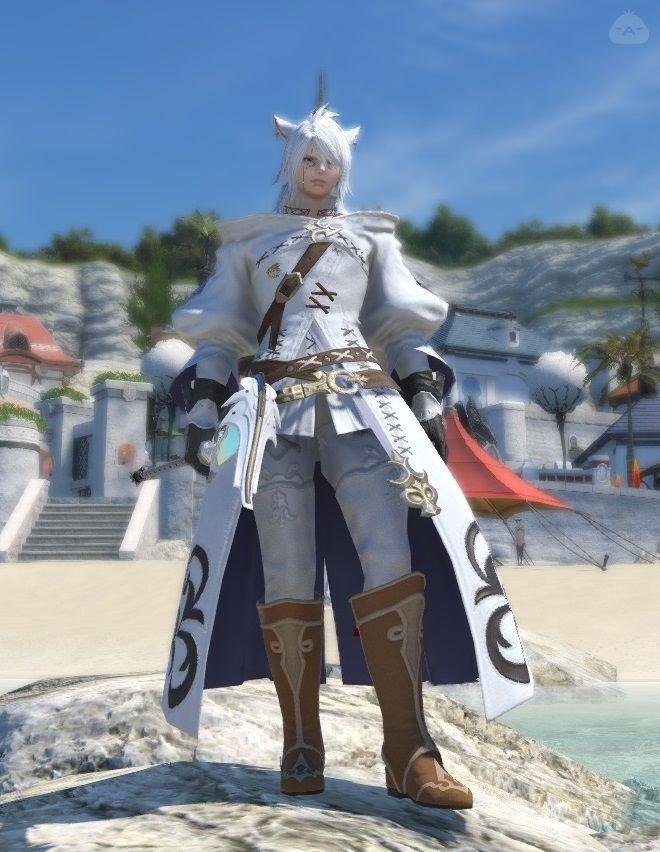白猫魔道士