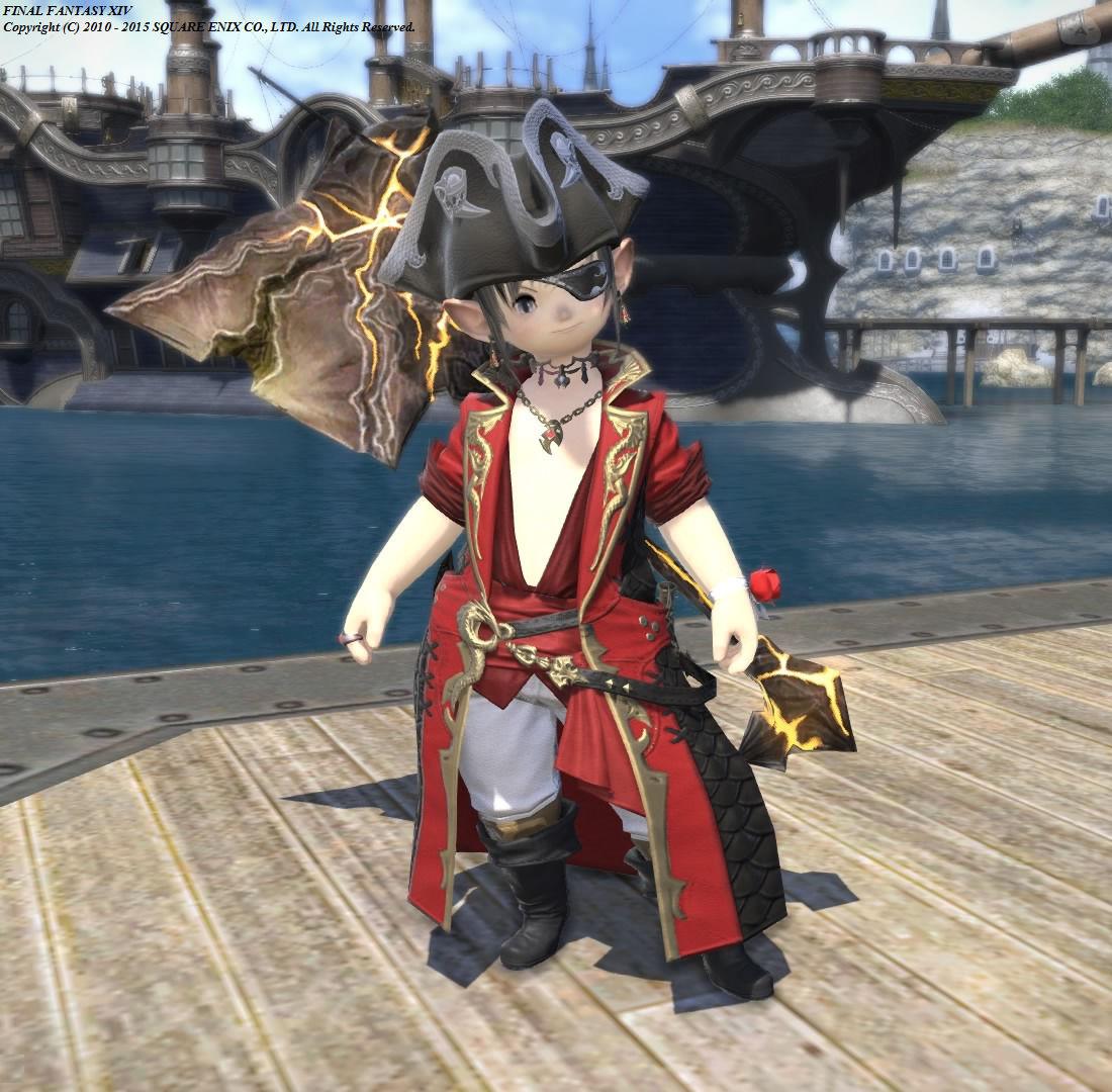 紅き海賊 ~戦士onウラエウスコート~