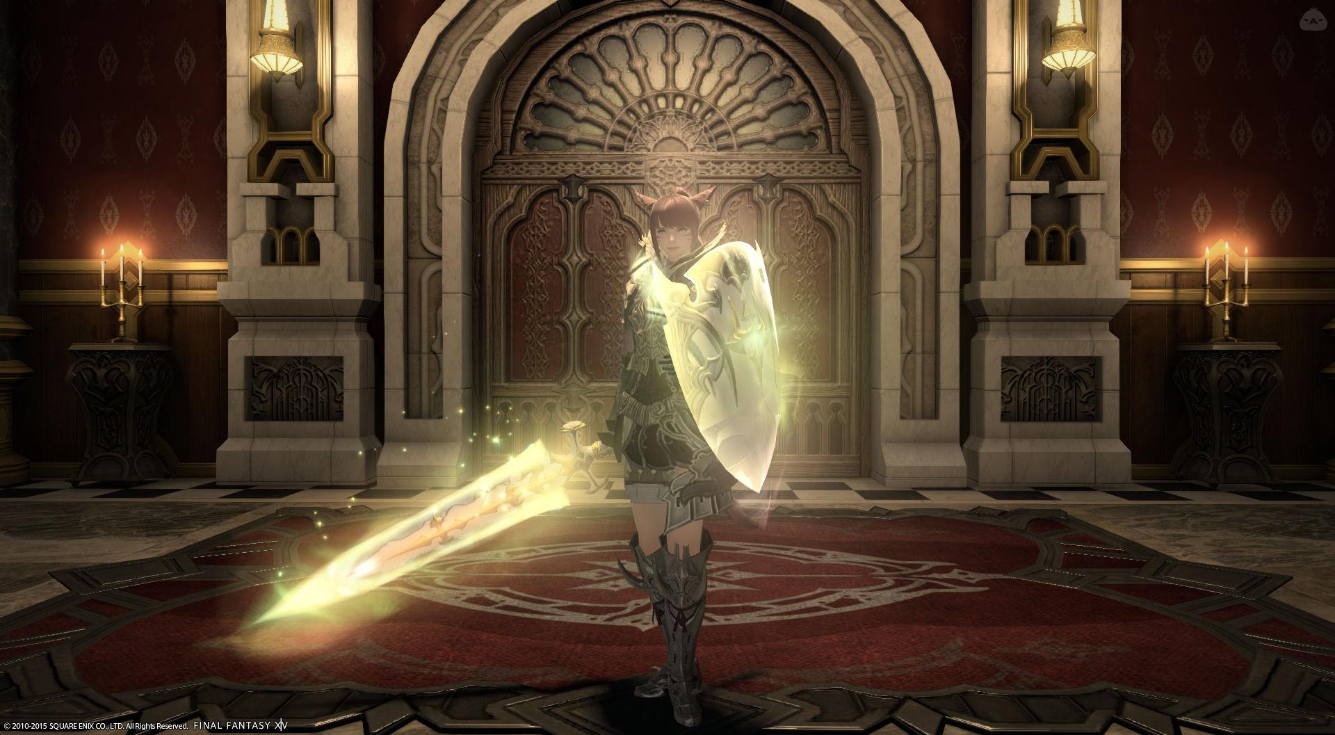心の中の聖騎士様リベンジ