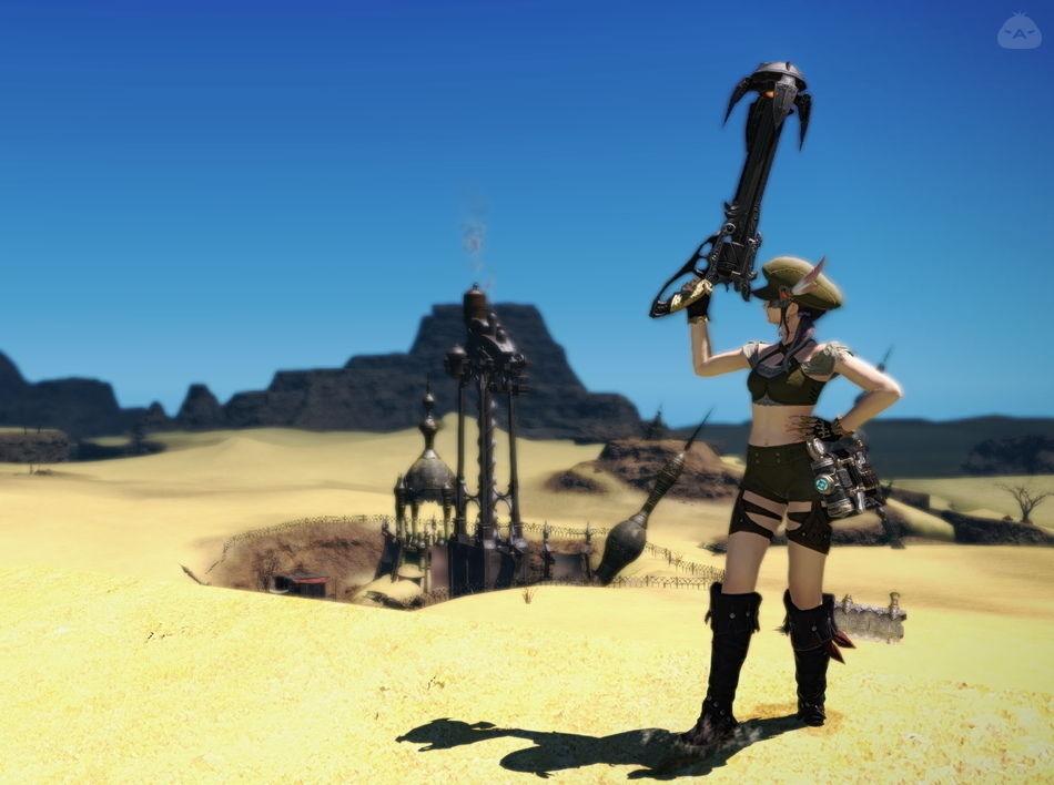 砂漠の狙撃兵