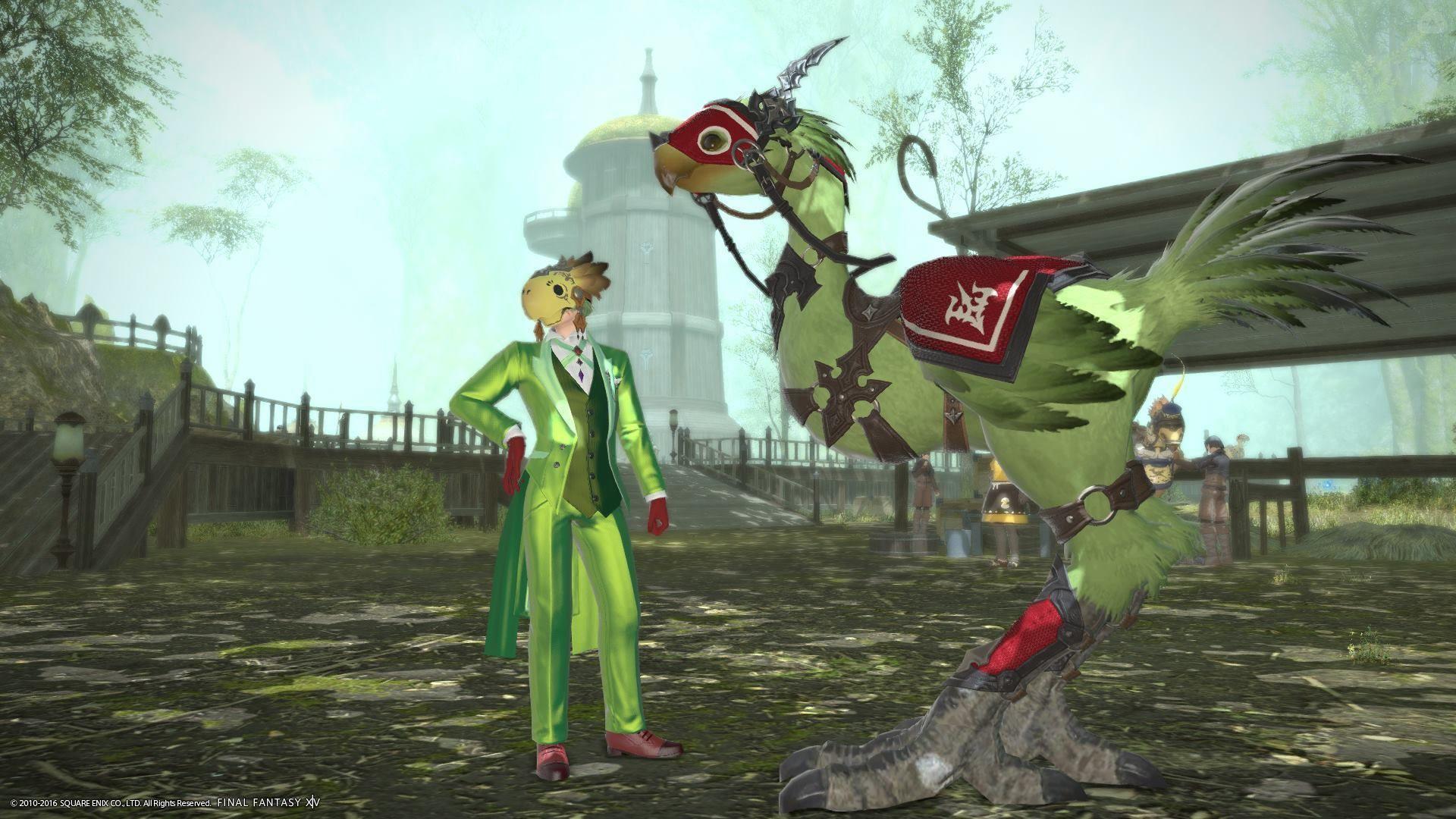 緑のチョコボレースマスター