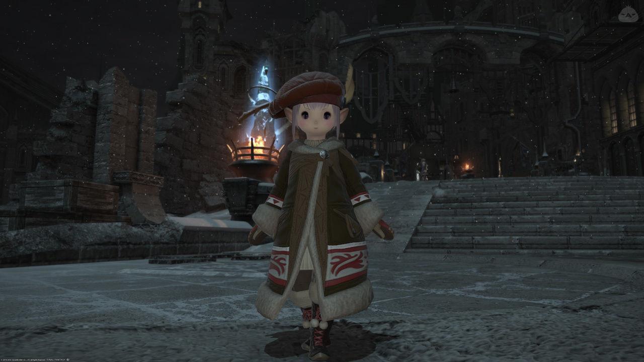 防寒コートタタルさん