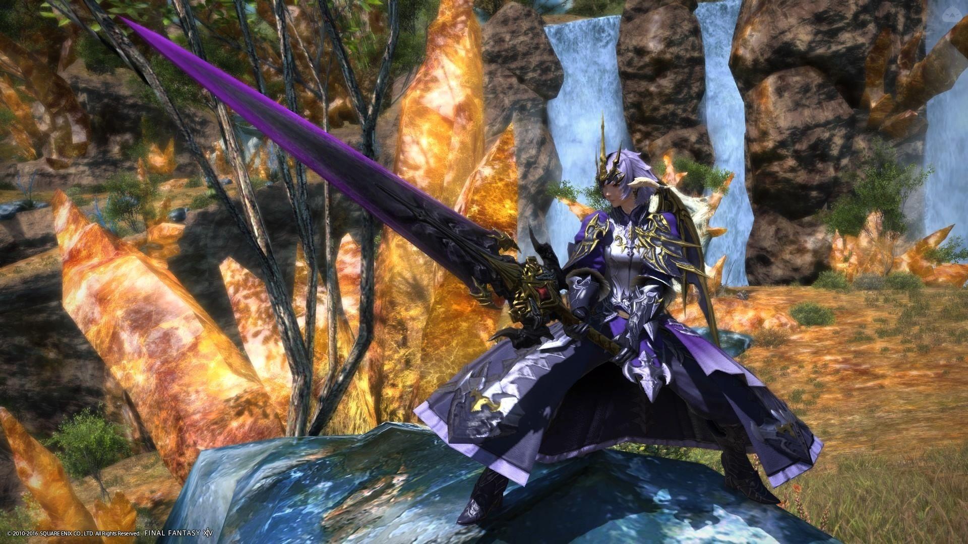 暗黒竜騎士 ~対ニーズヘッグ征竜装束~