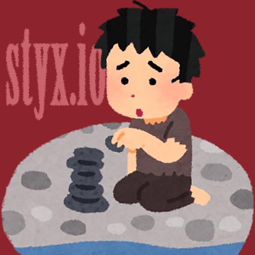 styx.io 賽の河原で石を積む