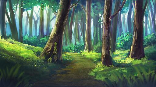 おえかきの林