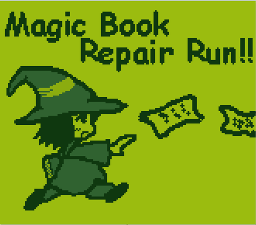 Magic book repair run!! GGJ2020 ver