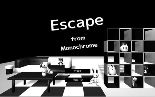 【脱出ゲーム】Escape from Monochrome