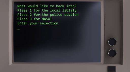 ハッカーゲーム