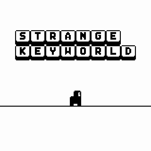 STRANGE KEYWORLD