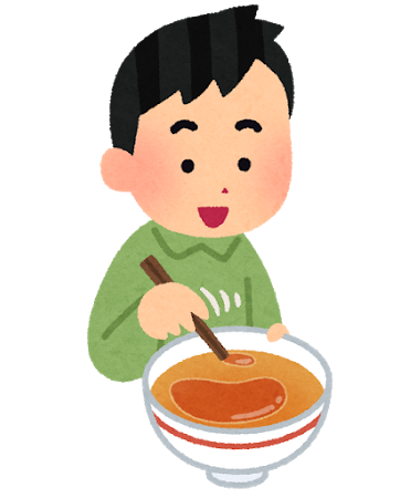 スープの油くっつけるやつ