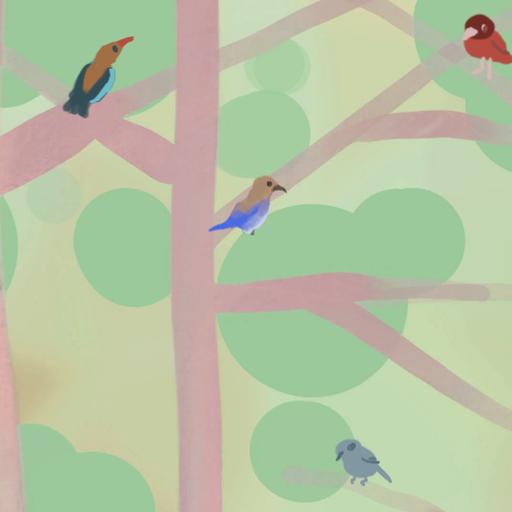 星渡りの青い鳥