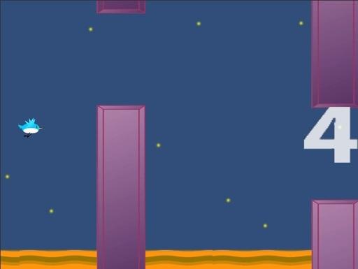 [練習]トリバード(Flappy Birdっぽいの)