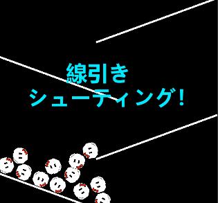 線引きシューティング