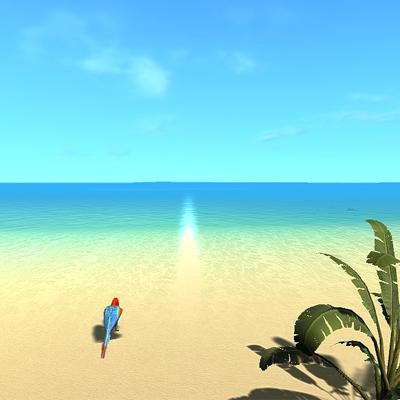 癒しの環境系プライベートビーチ
