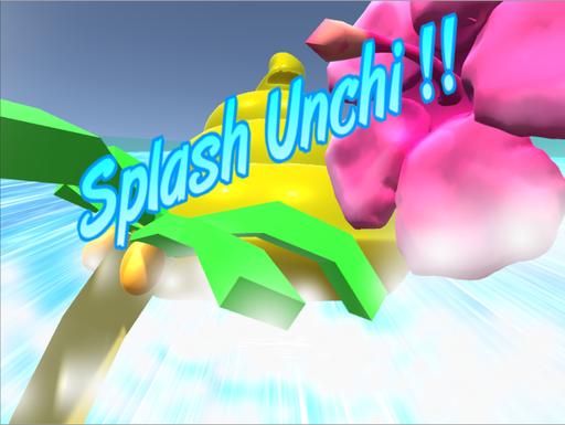 Splash Unchi !!