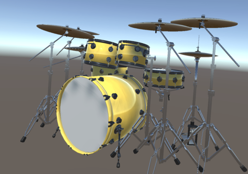 Drums Dress-Up Simulator